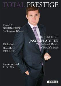 TOTALPRESTIGE MAGAZINE - On cover Jason Fladlien