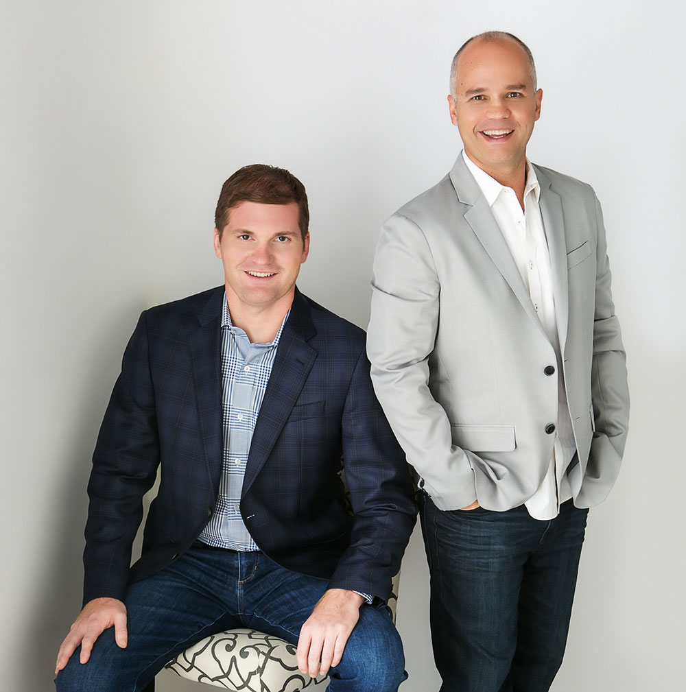 Jason Fladlien and Wilson Mattos, co-founders of Rapid Crush, Inc.