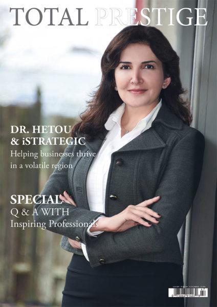 TOTALPRESTIGE MAGAZINE - On cover Dr Ghaidaa Hetou