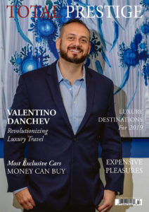 TOTALPRESTIGE MAGAZINE - On cover Valentino Danchev