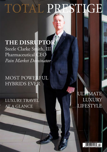 TOTALPRESTIGE MAGAZINE - On cover Steele Clarke Smith III