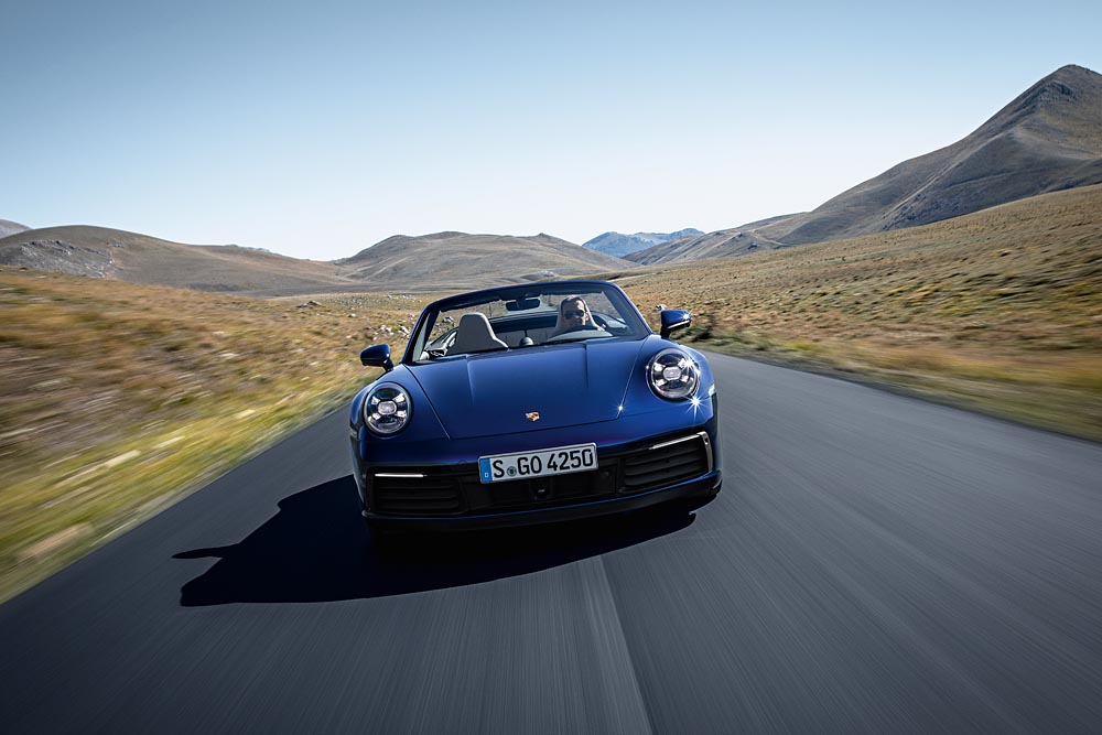 The New 2020 Porsche 911 Carrera S And 4s Cabriolet