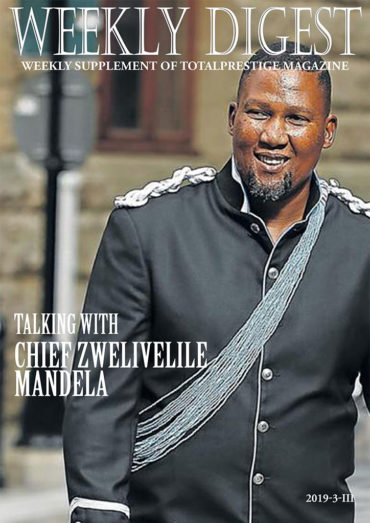 Chief Zwelivelile Mandela