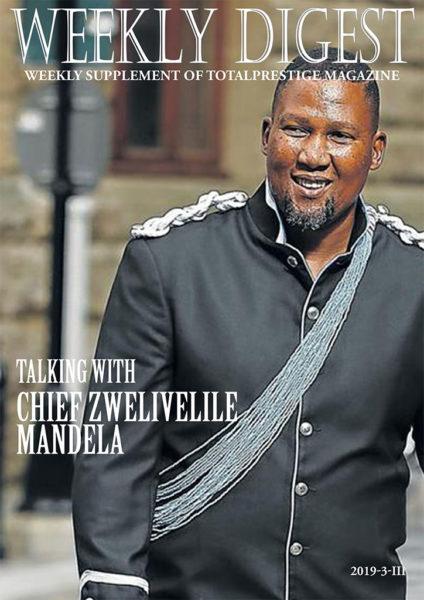 Chief Zwelivelile Mandela