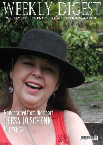 On cover Leesa Jo Schenk