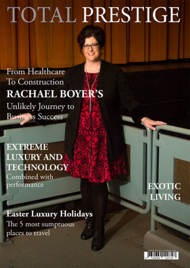 TOTALPRESTIGE MAGAZINE - On cover Rachael Boyer