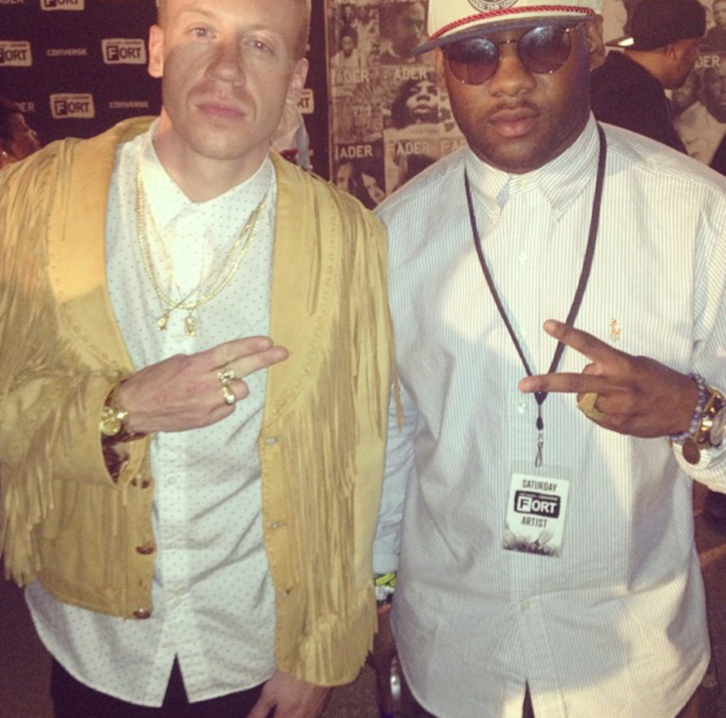 Anthony Cole and Macklemore