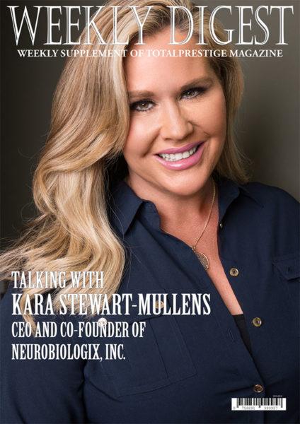On cover Kara Stewart-Mullens