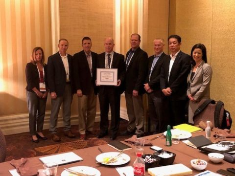 Omron Presents Digi-Key with the Distributor of the Year Award
