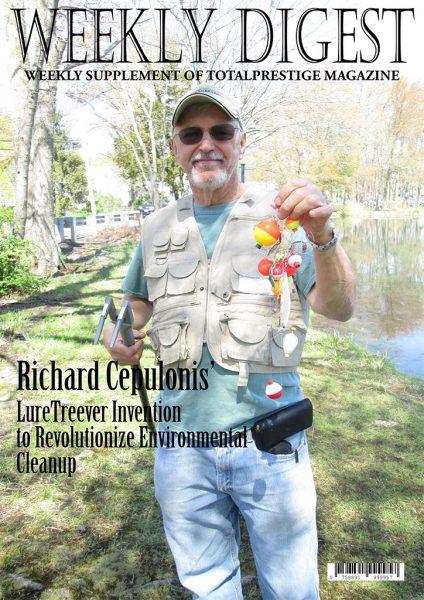 On cover Richard Cepulonis