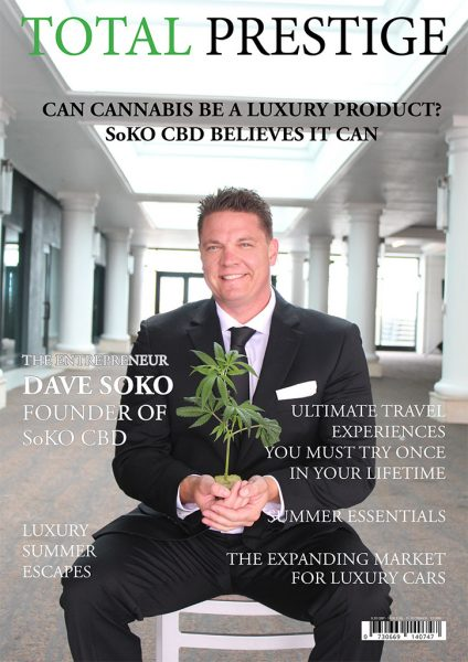 TOTALPRESTIGE MAGAZINE - On cover David Soko