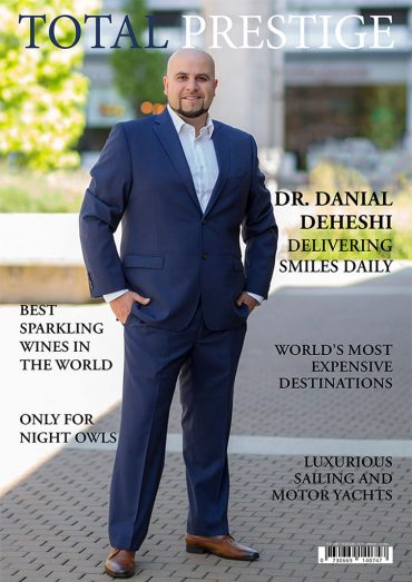 TOTALPRESTIGE MAGAZINE - On cover Dr. Danial Deheshi