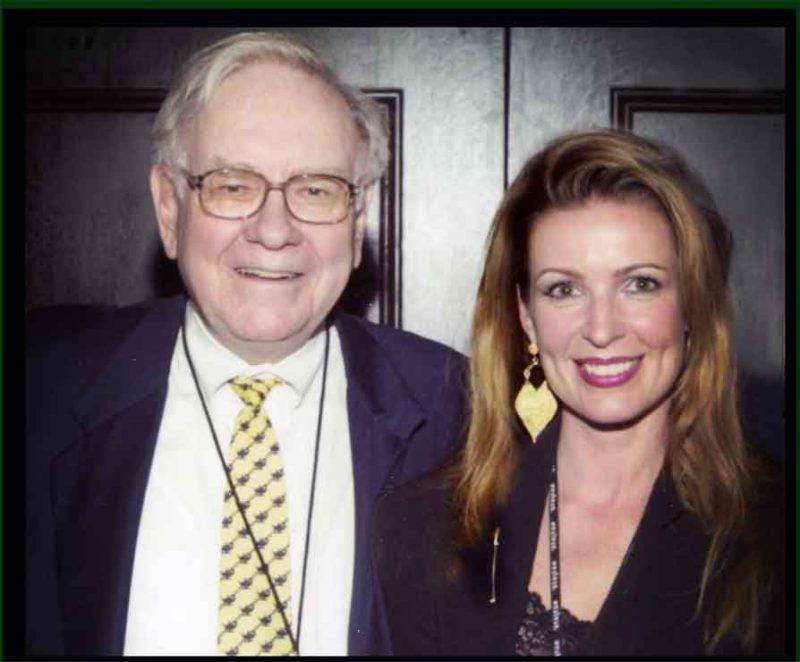 Warren Buffett and Luxury Guru, Lorre White at his country club