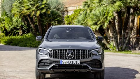The new Mercedes-AMG GLC 43 4MATIC models  SUV and Coupé. A Dynamic Duo