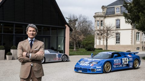 The Bugatti EB110 Legend. The First Modern Super Sports Car