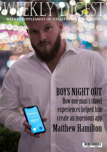 On cover Matthew Hamilton