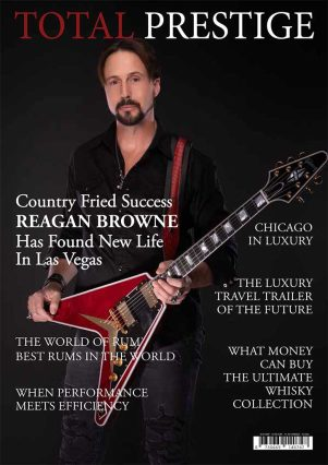 TOTALPRESTIGE MAGAZINE - On cover Reagan Browne