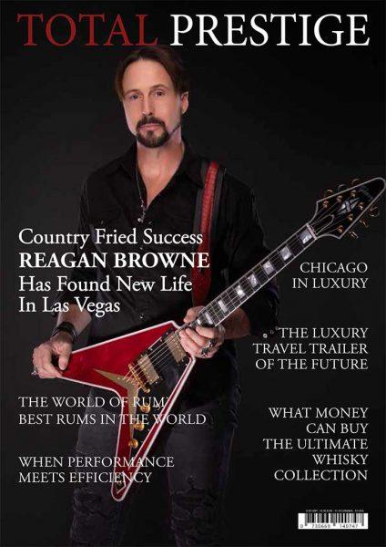 TOTALPRESTIGE MAGAZINE - On cover Reagan Browne