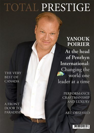 TOTALPRESTIGE MAGAZINE - On cover Yanouk Poirier