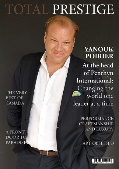 TOTALPRESTIGE MAGAZINE - On cover Yanouk Poirier