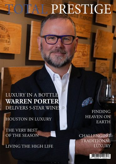 TOTALPRESTIGE MAGAZINE - On cover Warren Porter