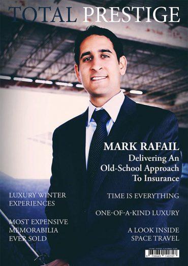 TOTALPRESTIGE MAGAZINE - On cover Mark Rafail