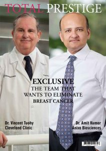 TOTALPRESTIGE MAGAZINE - On cover Dr. Vincent Tuohy and Dr. Amit Kumar