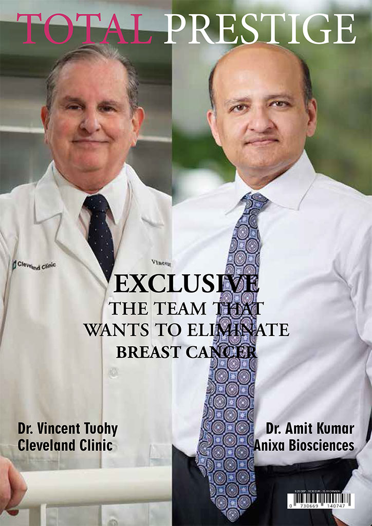 Dr. Vincent Tuohy and Dr. Amit Kumar