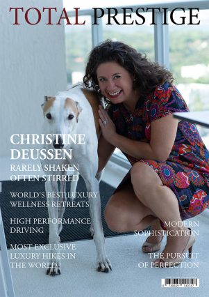 TOTALPRESTIGE MAGAZINE - On cover Christine Deussen