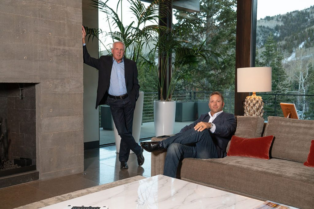 Steven P. Urry and Steven Foster. Founders of Axiom Prepaid Holdings