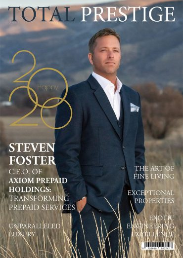 TOTALPRESTIGE MAGAZINE - On cover Steven Foster