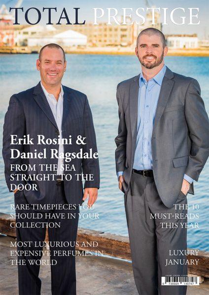 TOTALPRESTIGE MAGAZINE - On cover Erik Rosini & Daniel Ragsdale