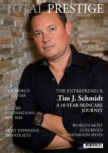TOTALPRESTIGE MAGAZINE - On cover Tim J. Schmidt