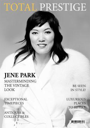 TOTALPRESTIGE MAGAZINE - On cover Jene Park