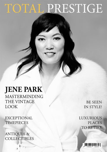 TOTALPRESTIGE MAGAZINE - On cover Jene Park