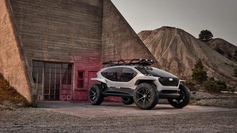 The Off-Roader of the Future. The Audi AI:TRAIL Quattro