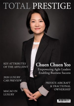 TOTALPRESTIGE MAGAZINE - On cover Chuen Chuen Yeo