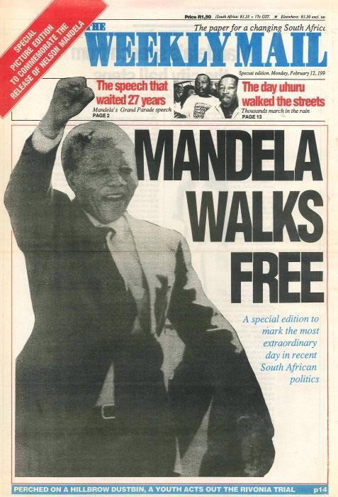 Commemorating 30 years of Nelson Rolihlahla Mandela's release