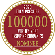 World's Most Inpiring Companies Nominee - 2020