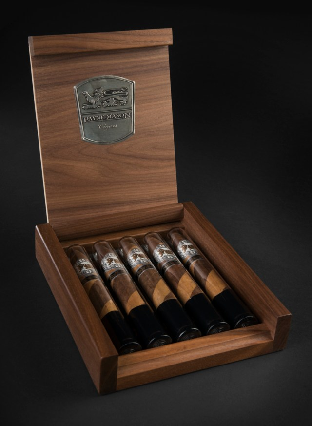 5 Cigars in Glass Gift Set