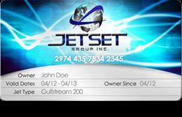 JetSet Group card