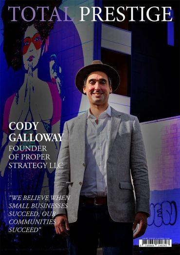 TOTALPRESTIGE MAGAZINE - On cover Cody Galloway
