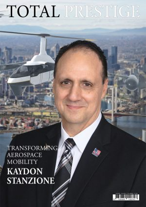 TOTALPRESTIGE MAGAZINE - On cover Kaydon Stanzione