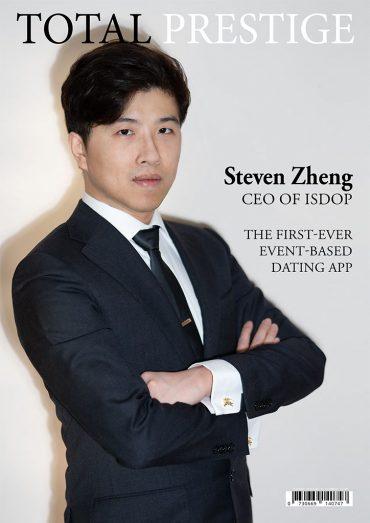 TOTALPRESTIGE MAGAZINE - On cover Steven Zheng