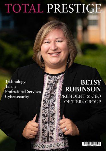 TOTALPRESTIGE MAGAZINE - On cover Betsy Robinson