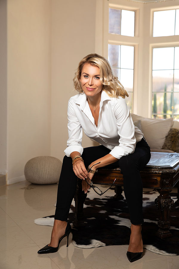 Katarina Maloney. CEO & Founder of MCNB USA Corp
