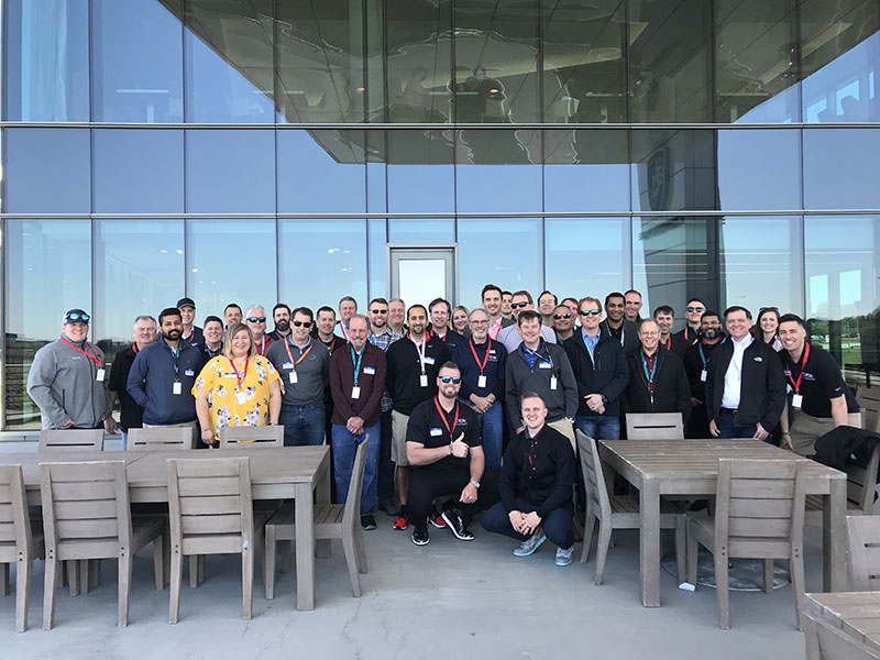 The Tier4 companies hosting technology leaders at the Porsche track in Atlanta
