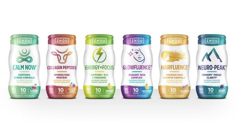 Zhou Nutrition Water Enhancers