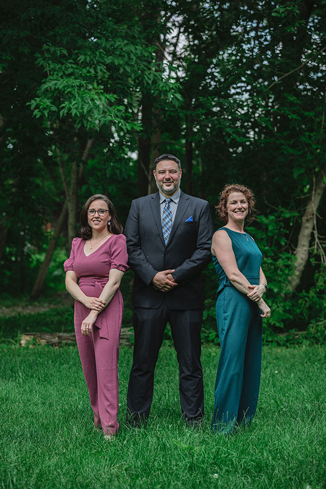 Left to Right: Rachel Van Gerven (Executive V.P.) Trevor Perkin (President) Rebecca MacLary (Senior V.P)