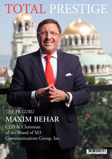 TOTALPRESTIGE MAGAZINE - On cover Maxim Behar